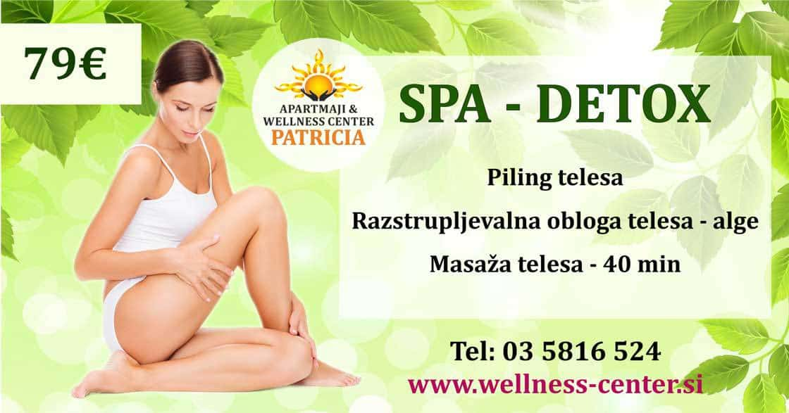 DETOX program - Wellness center Patricia